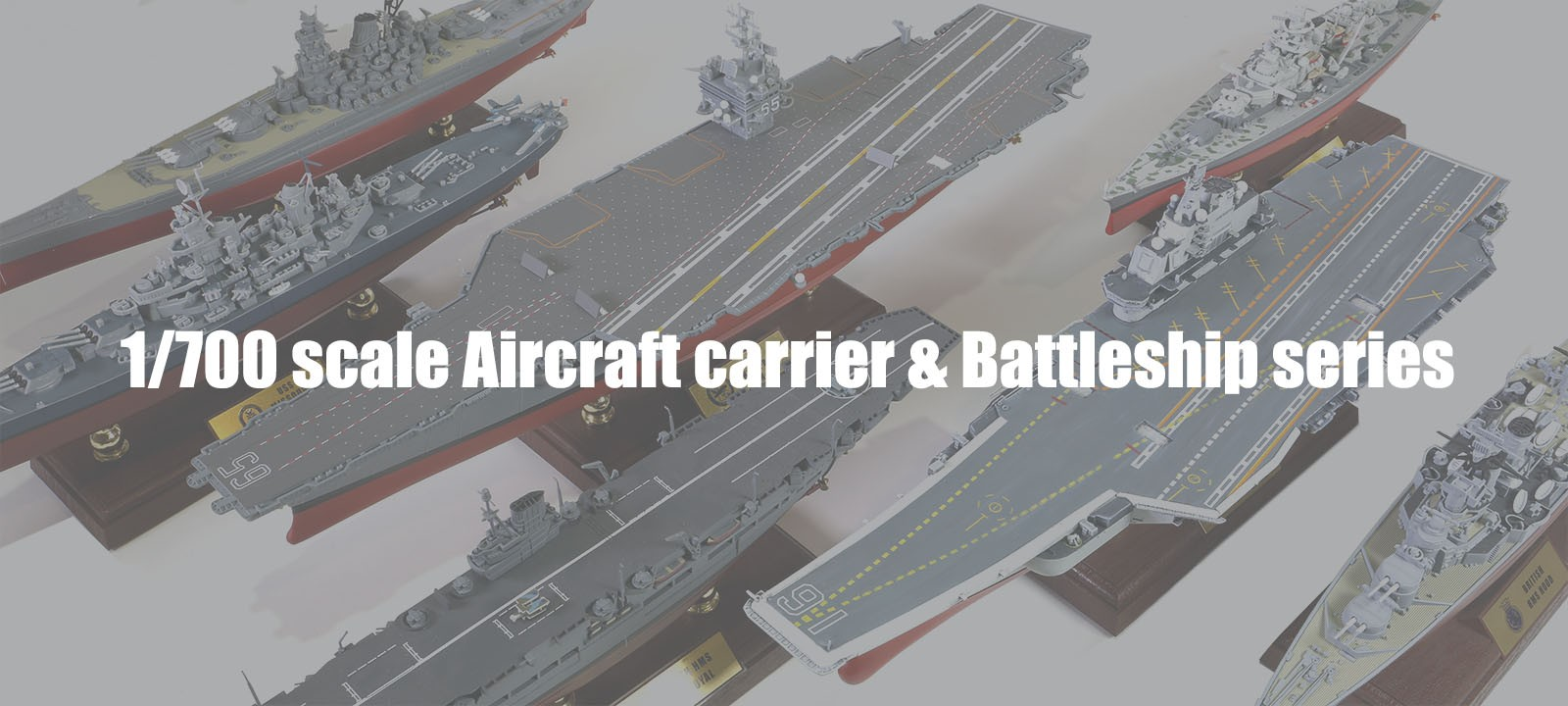 700th scale aircraft carrier series