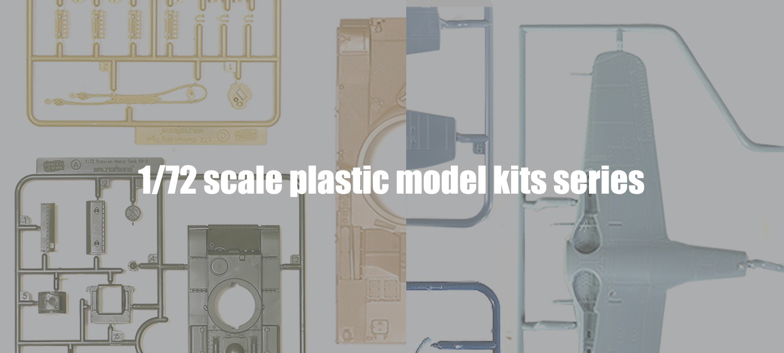 72nd scale model kits series